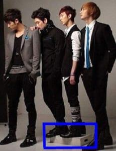 韓国人男性平均身長